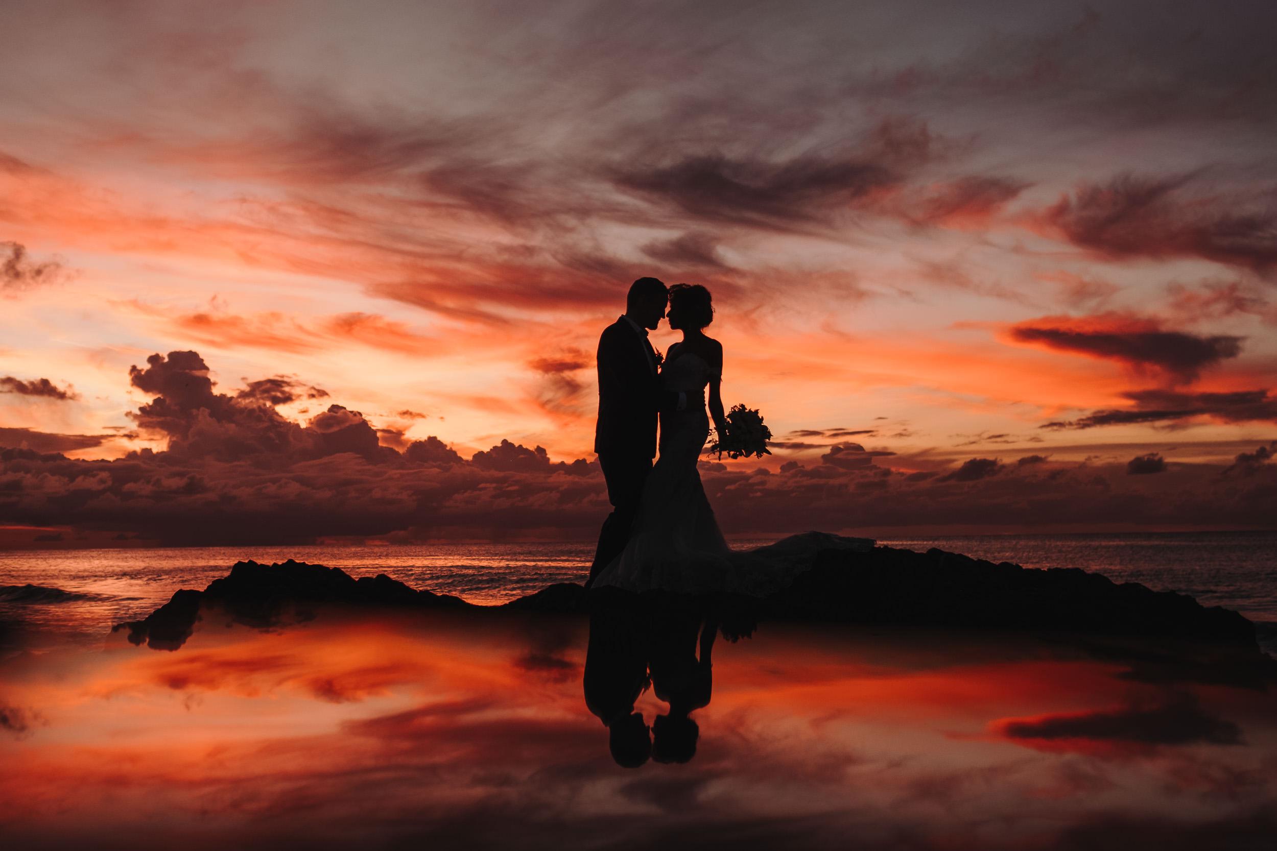 Hochzeitsfotograf Bern Sonnenuntergang